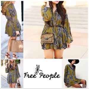 Free People Shake it Layered Mini Dress/ tunic